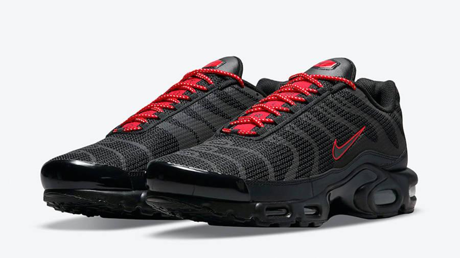 Nike TN Air Max Plus Black Reflective DN7997-001 front