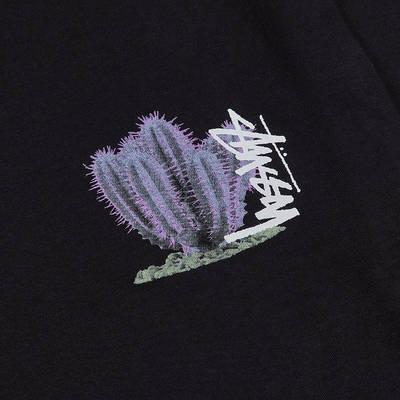 Stussy Desert Bloom T-shirt Black Closeup