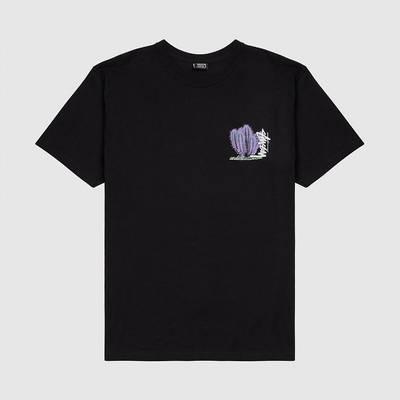 Stussy Desert Bloom T-shirt Black Front