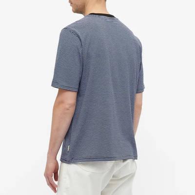 Stussy Mini Stripe T-Shirt Black Back