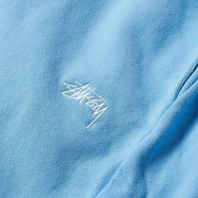 Stussy Stock Logo Pant Blue Detail 2