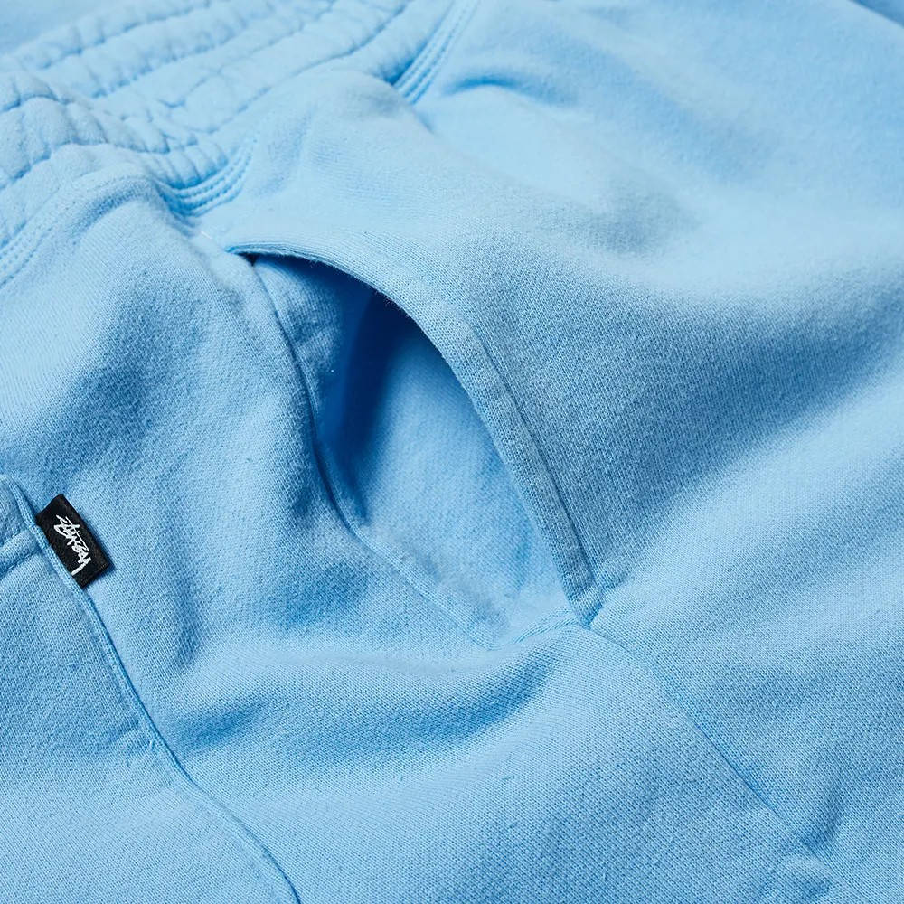 Stussy Stock Logo Pant Blue Detail