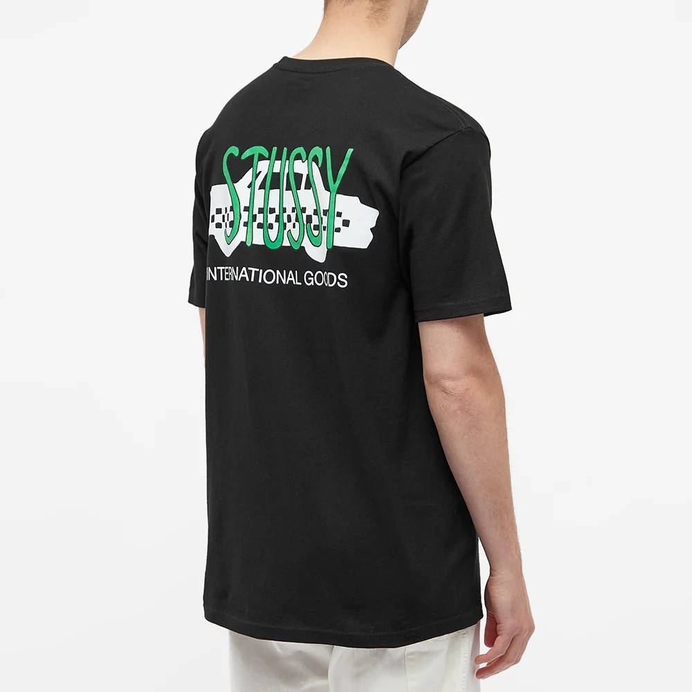 Stussy Taxi Cab T-Shirt Black Back