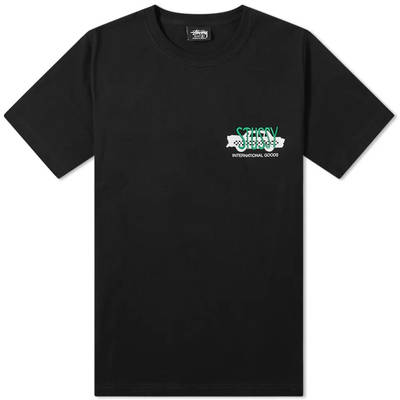 Stussy Taxi Cab T-Shirt Black