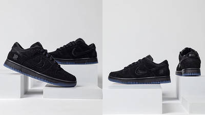 UNDEFEATED x Nike Dunk Low Dunk Vs AF-1 DO9329-001 front side