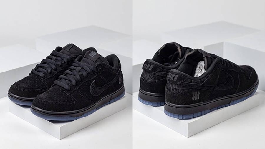 UNDEFEATED x Nike Dunk Low Dunk Vs AF-1 DO9329-001 front