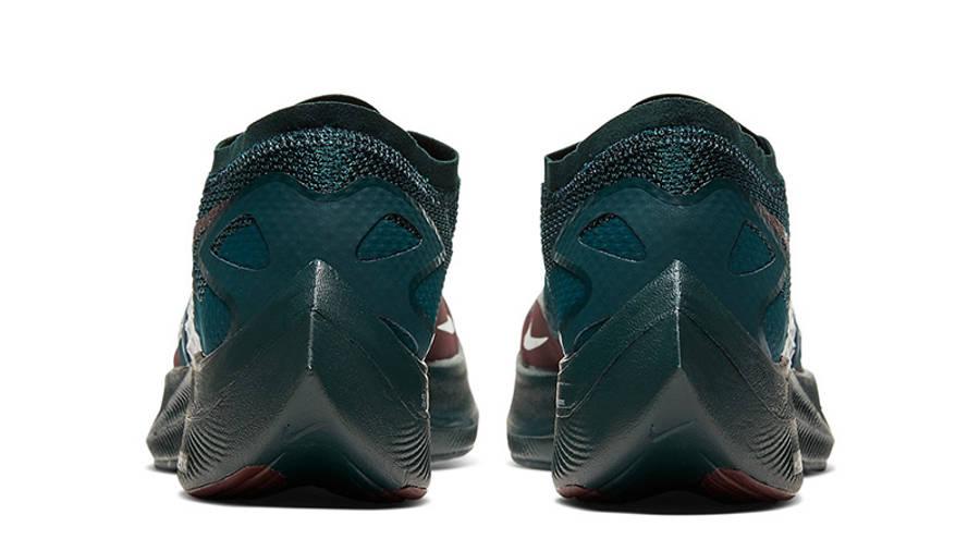 Undercover x Nike Gyakusou ZoomX VaporFly Next 2 Green Burgundy CT4894-300 back