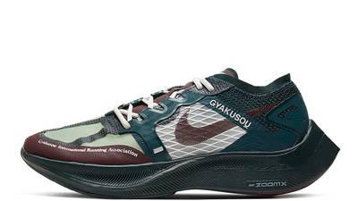 Undercover x Nike Gyakusou ZoomX VaporFly Next 2 Green Burgundy CT4894-300