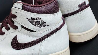 A Ma Maniére x Air Jordan 1 High Sail First Look Back