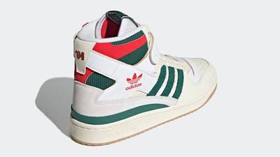adidas Forum 84 Hi White Green Red GX9055 back