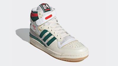 adidas Forum 84 Hi White Green Red GX9055 front