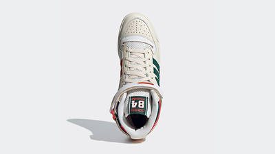 adidas Forum 84 Hi White Green Red GX9055 middle
