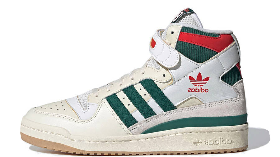 adidas Forum 84 Hi White Green Red GX9055