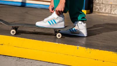 adidas Forum 84 Mid ADV Diego Najera H01019 on skate