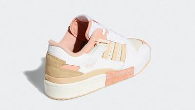 adidas Forum Exhibit Low White Amber GZ5389 back