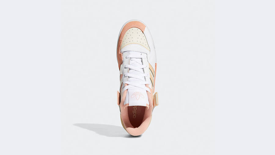 adidas Forum Exhibit Low White Amber GZ5389 middle