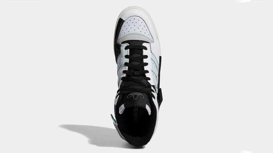 adidas Forum Exhibit Mid White Black Halo Mint Middle