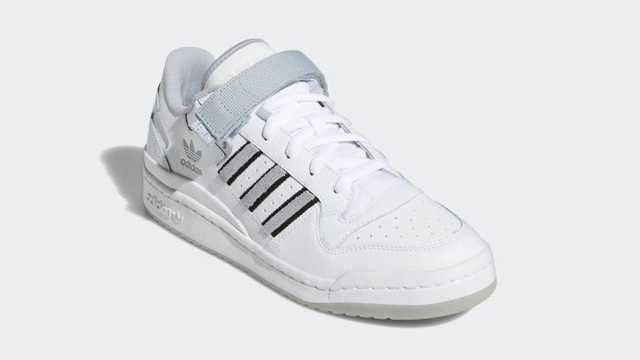 adidas Forum Low City White Halo Silver Front