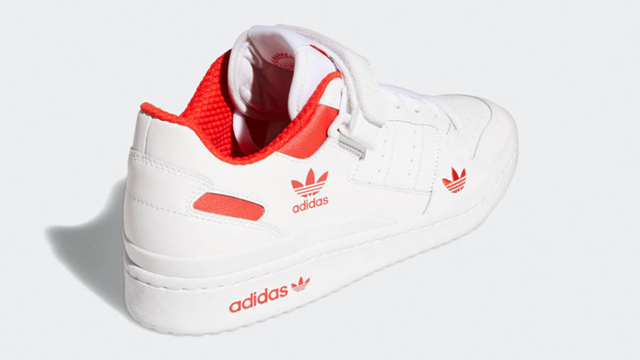 adidas Forum Low City White Red Back