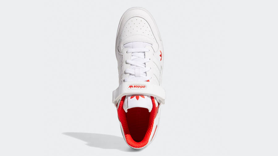 adidas Forum Low City White Red Middle
