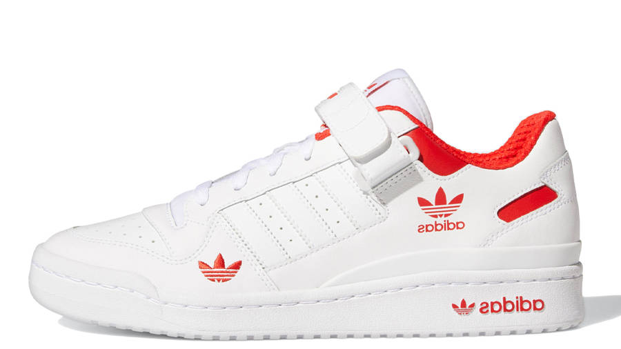 adidas Forum Low City White Red