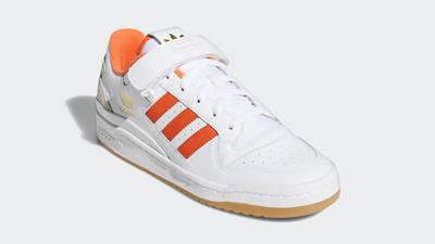 adidas Forum Low White True Orange Front