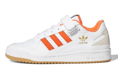 adidas Forum Low White True Orange