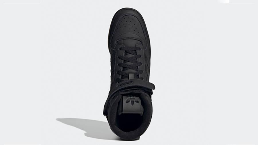 adidas Forum Mid Black Gum Middle