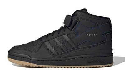 adidas Forum Mid Black Gum