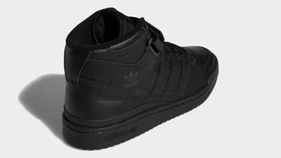 adidas Forum Mid Triple Black Back
