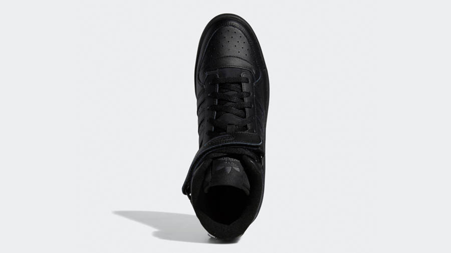 adidas Forum Mid Triple Black Middle