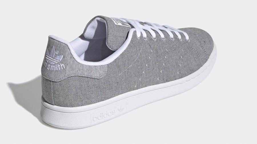 adidas Stan Smith Grey White Back