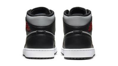 Air Jordan 1 Mid Shadow Black Grey 554724-096 back