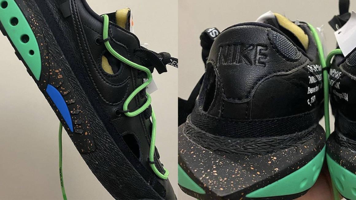 """Off-White x Nike Blazer Low """"Black"""""""
