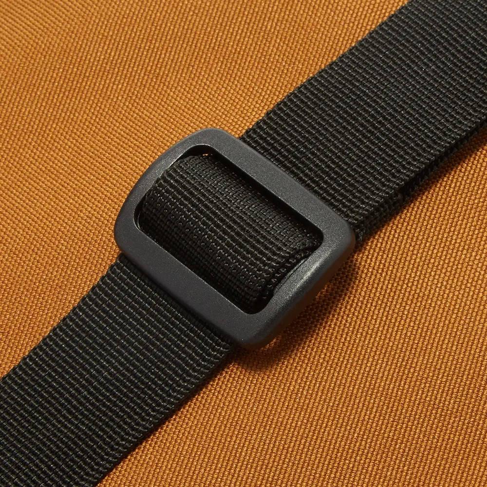 Carhartt WIP Essentials Bag Hamilton Brown I006285-HZ90 Detail 2