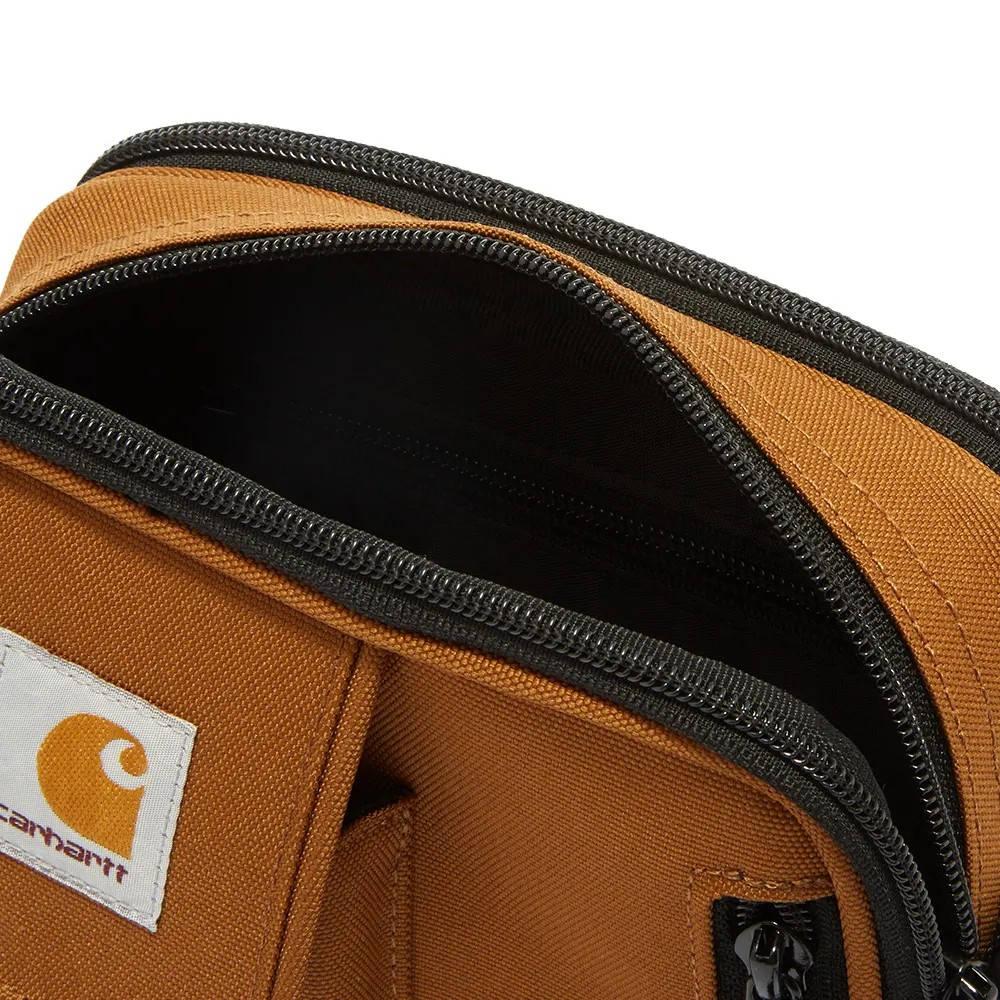 Carhartt WIP Essentials Bag Hamilton Brown I006285-HZ90 Detail 3