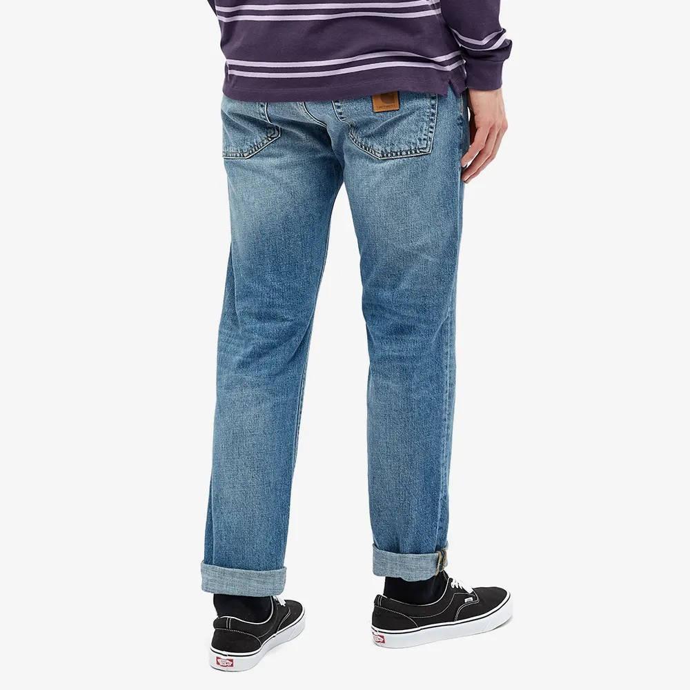 Carhartt WIP Klondike 2 Jeans I016735-01WH Back