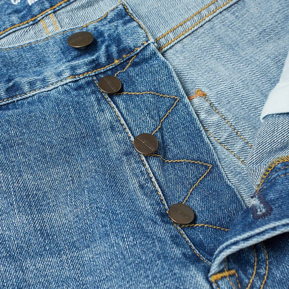 Carhartt WIP Klondike 2 Jeans I016735-01WH Detail