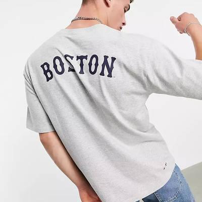 Champion Boston Red Sox T-Shirt Grey Back