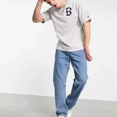 Champion Boston Red Sox T-Shirt Grey Full