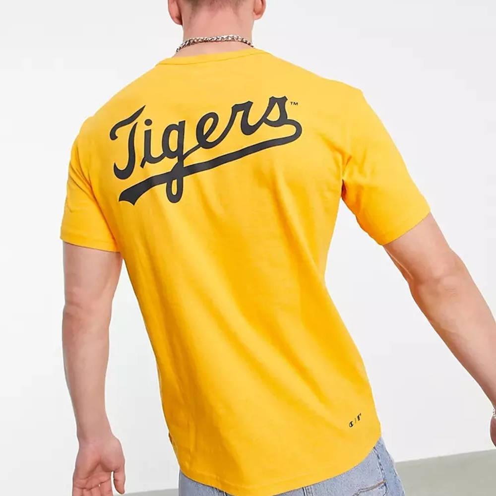 Champion Reverse Weave Detroit Tigers T-Shirt Orange Back