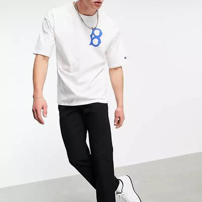 Champion Reverse Weave LA Dodgers T-Shirt White Full