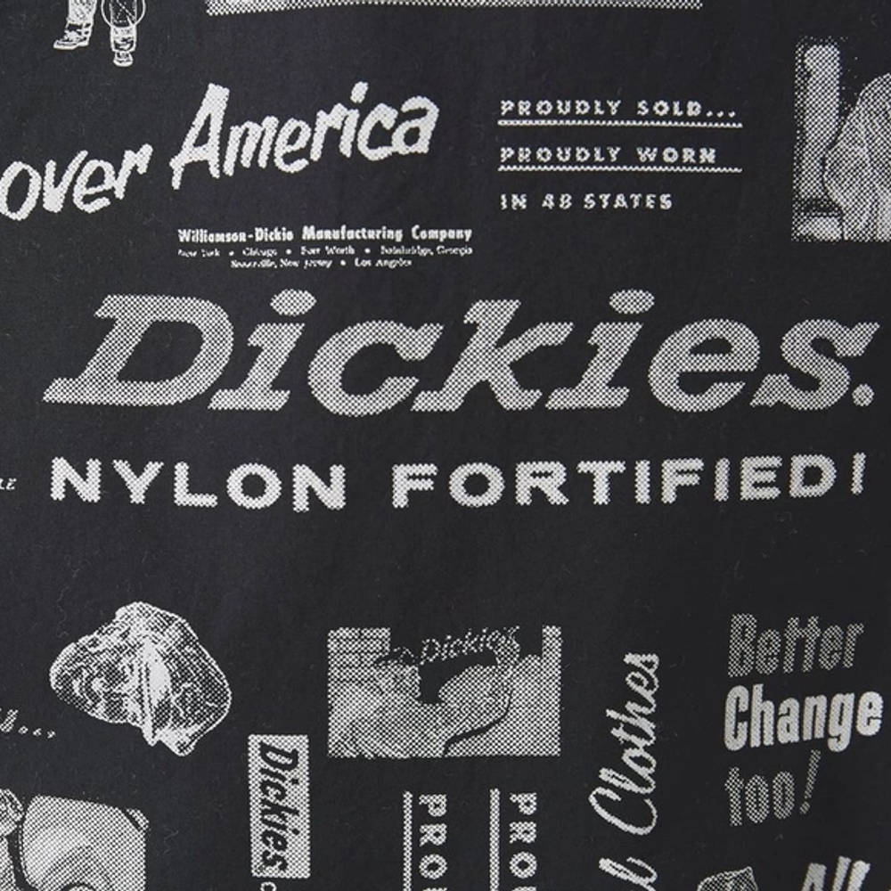 Dickies Short Sleeve Pillager Shirt Black Detail 3