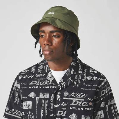 Dickies Short Sleeve Pillager Shirt Black Detail