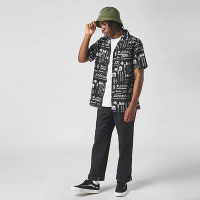 Dickies Short Sleeve Pillager Shirt Black Full