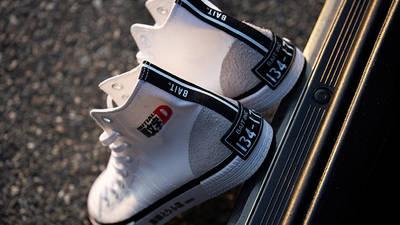 Initial D x BAIT x adidas Nizza Hi White Back