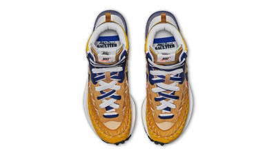 Jean Paul Gaultier x sacai x Nike Vaporwaffle Sesame Blue Void Middle