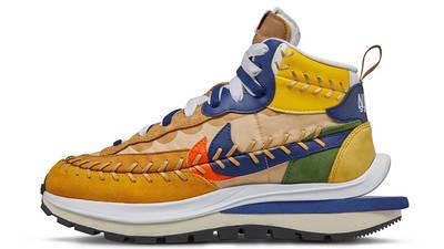 Jean Paul Gaultier x sacai x Nike Vaporwaffle Sesame Blue Void