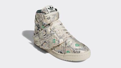 Jeremy Scott x adidas Forum Hi Wings 1 0 Money Q46154 front