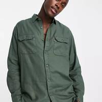 Levi's Jackson Cotton Hemp Worker Overshirt Green